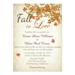 3 in 1 wedding invitations fall wedding invitations announcements zazzle