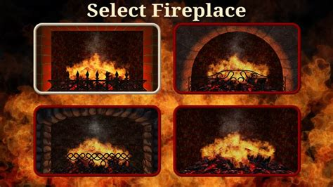 Realistic Fireplace Screensaver - 3d realistic fireplace screensaver home