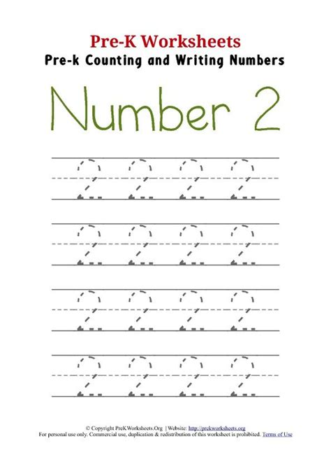 pre  trace number  worksheet  images writing