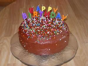 Birthday Chocolate Cake Decorations | www.imgkid.com - The ...