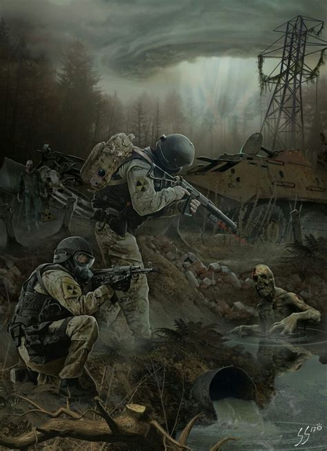 apocalyptic apocalypse military zombies concept zombie horror drawings game