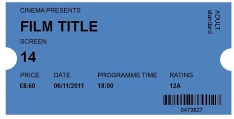 ticket templates   ticket template