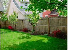 Border against fence Backyard Options Pinterest