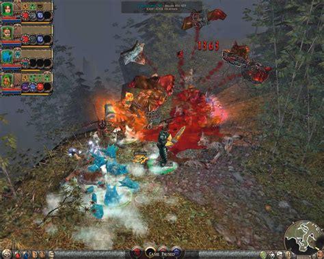 pca siege dungeon siege 2 test tipps release termin