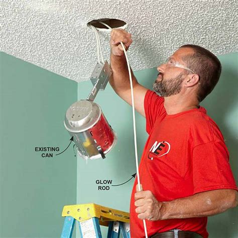 how to install can lights how to install recessed lighting diy ready