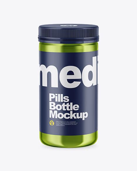 The biggest source of free photorealistic bottle mockups online! Download Psd Mockup Bottle Capsules Drugs High-Angle Shot ...