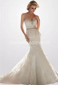 Robe De Mariee Sirene : robe de mari e sir ne ceinture perlee broderie ~ Melissatoandfro.com Idées de Décoration