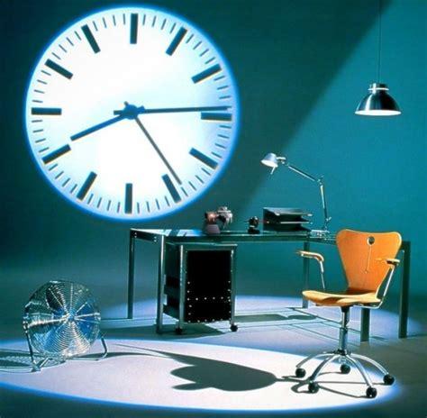 horloge projecteur pour afficher l heure en grand sur vos murs