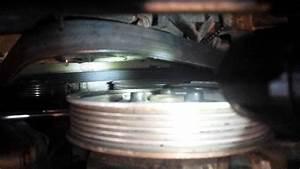 Replacing Serpentine  Accessory Belt Audi A4 3 0