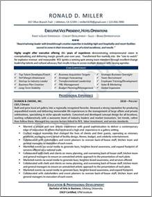 top 10 executive resume writers executive resume sles professional resume sles resumes by joyce 174