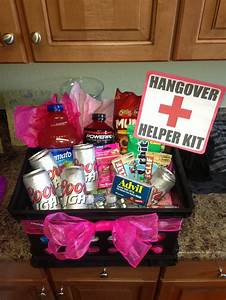 21st Birthday Hangover Recovery Kit   DIY-Crafts ...