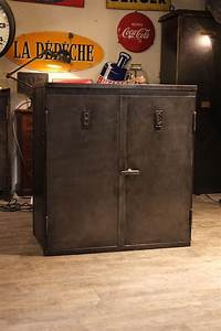 Meuble Industriel Vintage : meuble industriel ancien deco loft de renaud jaylac meuble industriel vintage de renaud jaylac ~ Nature-et-papiers.com Idées de Décoration