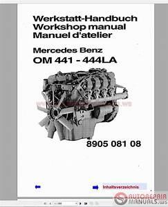 Mercedes Benz 300 400 Series Engine Workshop Manual