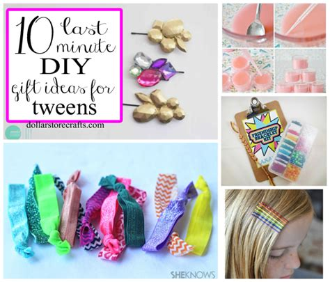 gifts for 20 year olds last minute 10 last minute diy gifts for tween crafts clever crafts tween gift and