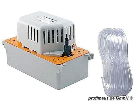 brennwert kondensat ableiten sauermann kondensatpumpe si 82 abdeckung ablauf dusche
