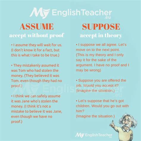 Presume Vs Assume by What Is The Difference In Meaning Between Assume Suppose