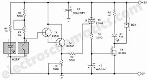 Sensor - Smoke Fire Alarm Circuit And Relay Spdt