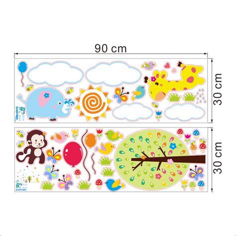 stickers muraux oiseaux et papillons sticker girafe papillons et oiseaux avec des ballons