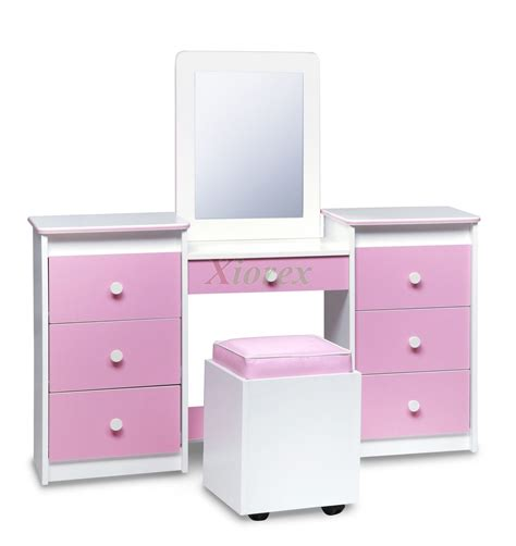girls white vanity table bookcase headboard footboard bed frames life line tango