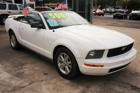 2006 Ford Mustang V6 Deluxe 2dr Convertible In Houston Tx