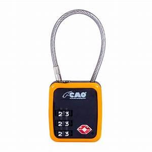 Comment Fermer Un Cadenas A Code 3 Chiffres : cadenas c ble tsa cao combinaison 3 chiffres ~ Dailycaller-alerts.com Idées de Décoration