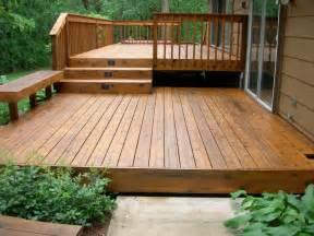 garden decking design ideas patio two level deck and