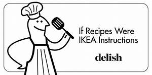 If Recipes Were Ikea Instructions