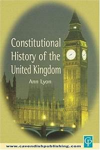 Constitutional History of the UK Kindle Edition – UK ...