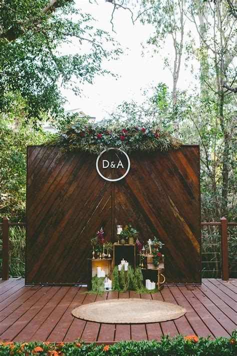 wedding backdrop ideas  pinterest deer