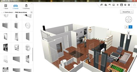 Software To Home Design : Free Floor Plan Software
