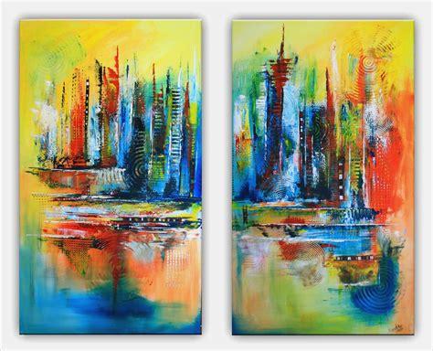 acrylbilder selber malen vorlagen angenehm bild abstrakte