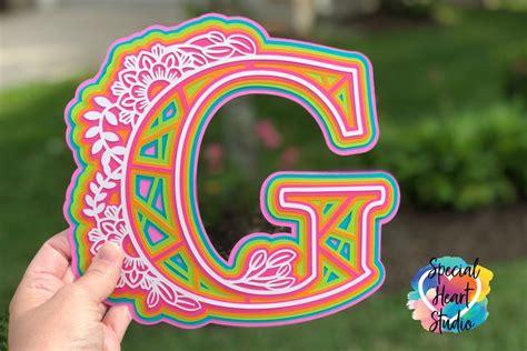 Get my free mandala letters svg files. FREE Layered Mandala Alphabet SVG   Mandala, Cricut crafts ...