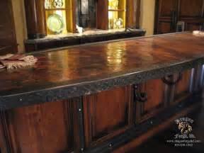 Hammered Sink by Copper Countertop Dark Brown Hairs
