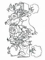 Coloring Farm Printable Mycoloring Colorear Dibujos Granja Imprimir Gratis sketch template