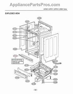 Parts For Lg Ldf7810st    Asteeus  Section 1 Parts
