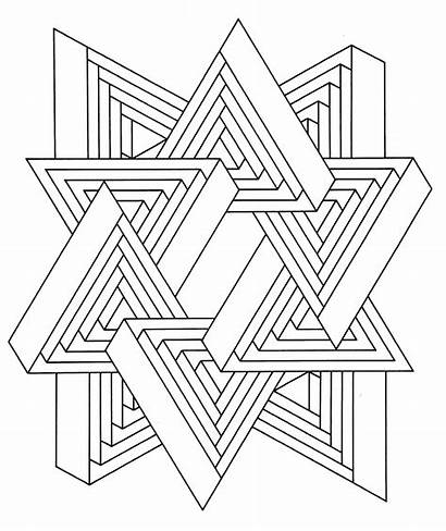 Coloring Geometric Pages Hard