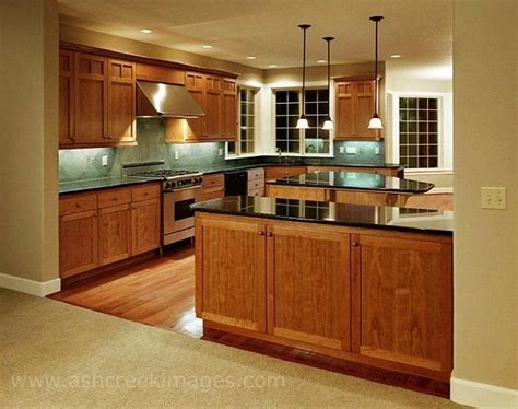 cherry wood cabinets with granite countertop kitchen oak cabinets countertops floor and backsplash