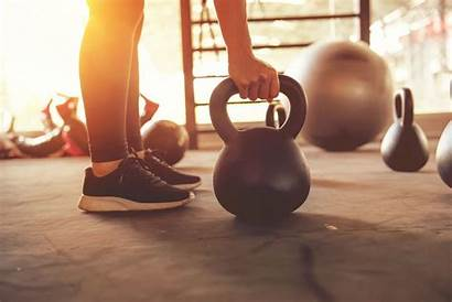 Training Fitness Funktionelles Gym Functional Kettlebell Crossfit