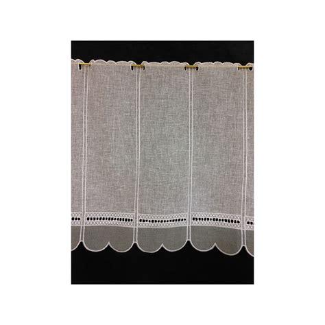 brise bise jour echelle blanc gris hauteur  cm tissus