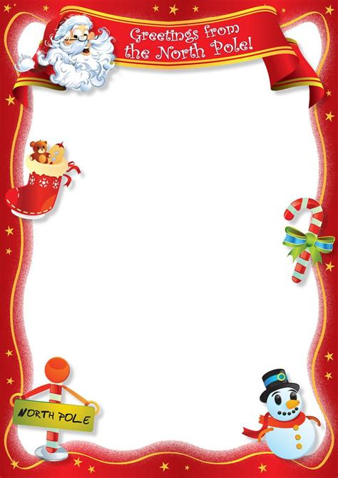 Free Santa Letter Template by 25 Unique Letter From Santa Template Ideas On
