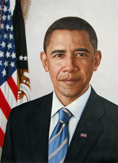 oil painting  president barack obama    oil