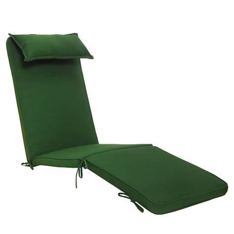 reclining steamer chair and luxury cushion by plant