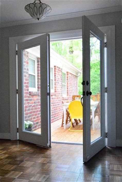 house small basement remodel home french doors