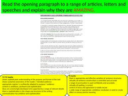For each blank space, choose the best c. English language Paper 2 Question 5 how to write an effective opening   Teaching Resources