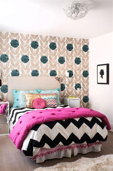 kids bedrooms showcasing stylish chevron pattern