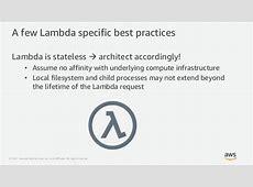 Serverless use cases with AWS Lambda