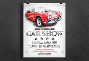 Car Show Flyer - Vintage / Classic ~ Flyer Templates on ...