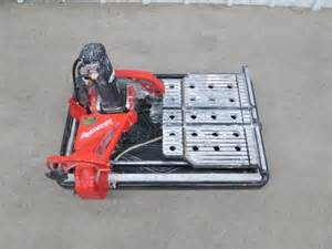 Husky Tile Saw Thd950l by Crankyape Powersport Rv And Marine Auctions