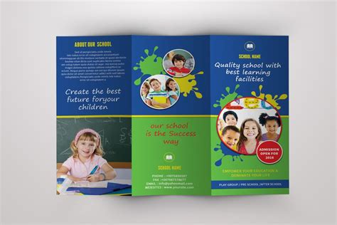Tri Fold School Brochure Template by School Tri Fold Brochure Template School Brochure