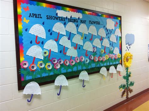 april showers bring may flowers bulletin board ideas april showers bring may flowers bulletin boards